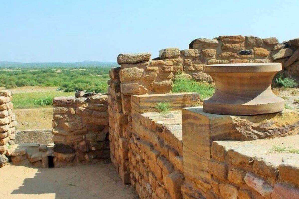 ciudades perdidas en la India Dholavira, Gujarat india